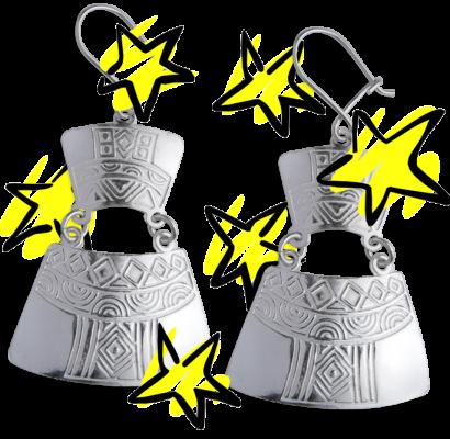 Aros de plata destacadas